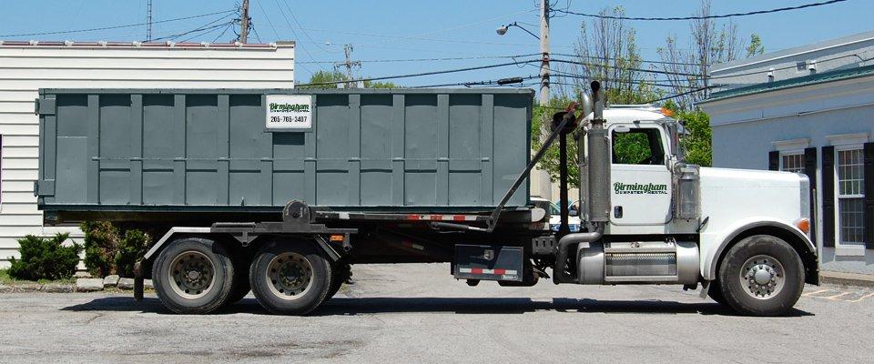 About Birmingham Dumpster Rental